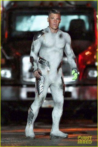 Deadpool 2: Josh Brolin sul set del film