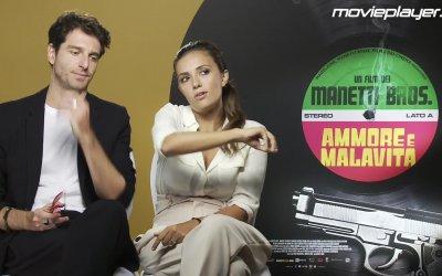 Ammore e malavita: Video intervista a Giampaolo Morelli e Serena Rossi