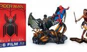 Spider-Man: Homecoming e Wonder Woman, in arrivo su Amazon steelbook e cofanetti con statuette e magneti