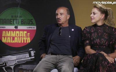 Ammore e malavita - intervista a Carlo Buccirosso e Claudia Gerini