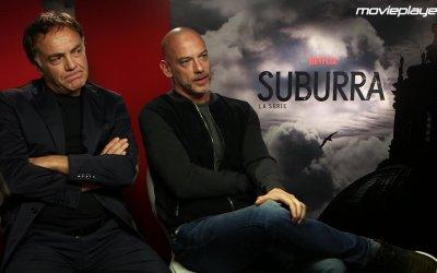 Suburra: intervista a Filippo Nigro e Francesco Acquaroli