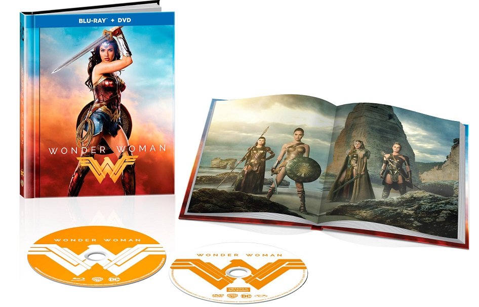 La digibook di Wonder Woman