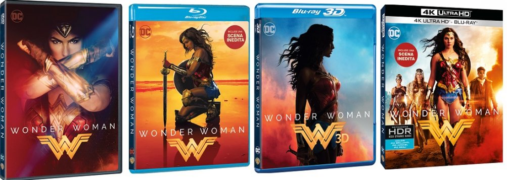 Le edizioni di Wonder Woman