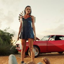Blood Drive: Christina Ochoa in una scena del pilot