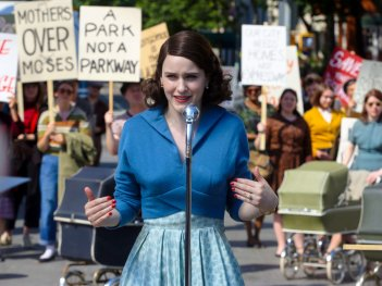 The Marvelous Mrs. Maisel: una scena della commedia targata Amazon