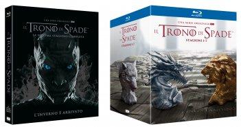 Il trono di spade: il blu-ray della stagione 7 e del cofanetto 1-7