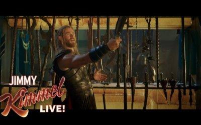 Chris Hemsworth Shares EXCLUSIVE Thor: Ragnarok Clip