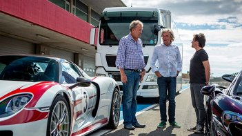 The Grand Tour: un momento con i conduttori dello show