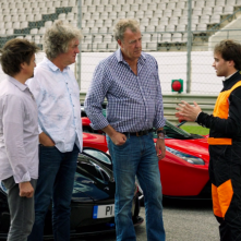 The Grand Tour: una scena del programma TV