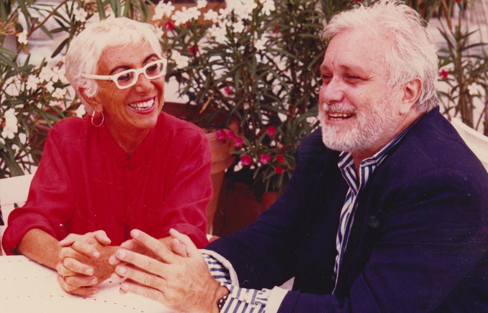 Così parlò De Crescenzo: Lina Wertmüller e Luciano De Crescenzo in un'immagine del documentario