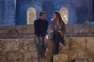 Non c'è campo: Vanessa Incontrada e Corrado Fortuna in una scena del film