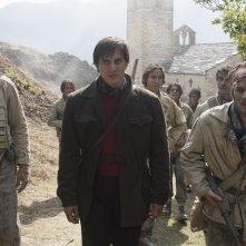 Una questione privata: Luca Marinelli in una scena del film