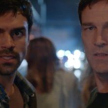 The Gifted: Sean Teal e Stephen Moyer in una scena di Exposed