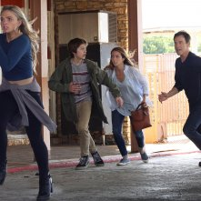 The Gifted: una scena d'azione del pilot