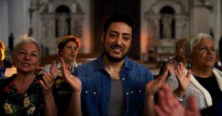 Addio fottuti musi verdi: Ciro Priello in una scena del film
