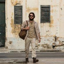 American Assassin: Dylan O'Brien in una scena del film