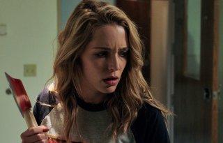 Auguri per la tua morte: Jessica Rothe in una scena del film