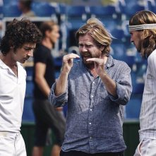 Borg McEnroe: Shia LaBeouf e Sverrir Gudnason sul set con il regista Janus Metz Pedersen