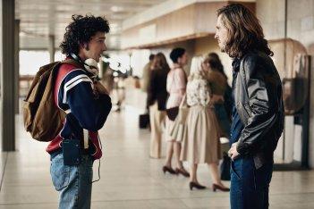 Borg McEnroe: Shia LaBeouf e Sverrir Gudnason in una scena del film