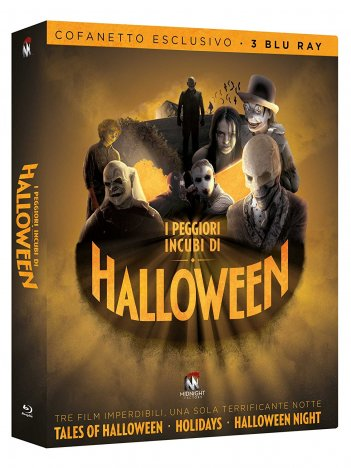 La cover del cofanetto Halloween