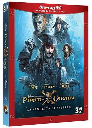 Il blu-ray di Pirati dei Caraibi: la vendetta di Salazar