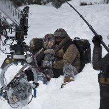 Il domani tra di noi: Kate Winslet e Idris Elba sul set del film