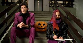 I'm - Infinita come lo spazio: Mathilde Bundschuh e Riccardo Sinibaldi in una scena del film