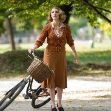 La signora dello zoo di Varsavia: Jessica Chastain in un momento del film
