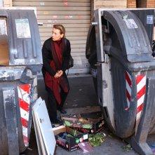 L'esodo: Daniela Poggi in una scena del film
