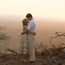 Ogni tuo respiro: Claire Foy e Andrew Garfield in un'immagine del film