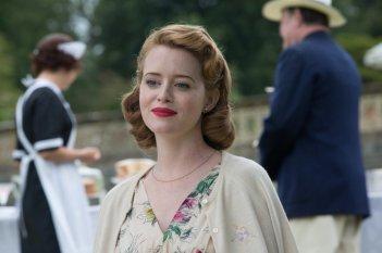 Ogni tuo respiro: Claire Foy in una scena del film