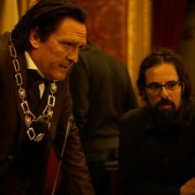 The Broken Key: Michael Madsen e il regista Louis Nero sul set del film