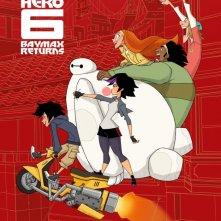 Big Hero 6: un poster del film tv Baymax Returns