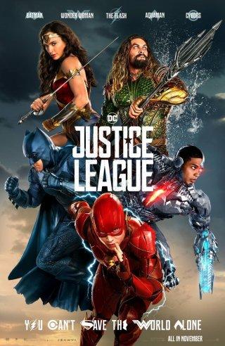 Justice League: un poster del film