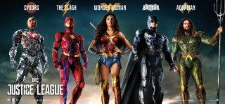 Justice League: un banner dei protagonisti
