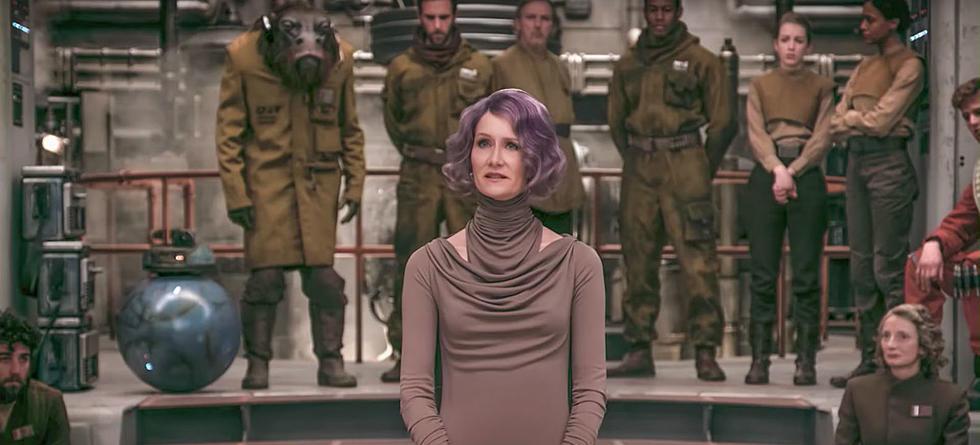 Star Wars: Gli ultimi Jedi, Laura Dern in una scena