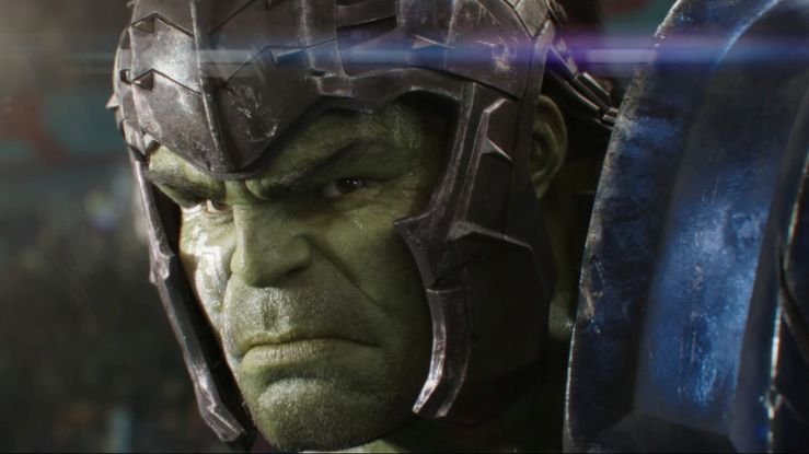 Thor: Ragnarok - a the first floor of the Hulk in an image of the first teaser