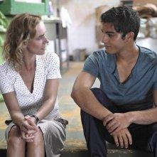 Catch the Wind: Sandrine Bonnaire e Kamal El Amri in una scena del film