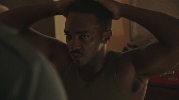 Detroit: Anthony Mackie in una scena del film
