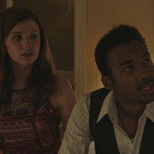 Detroit: Hannah Murray e Algee Smith in una scena del film