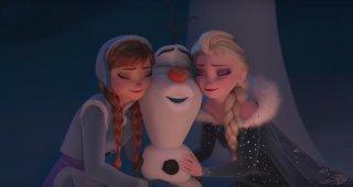 Frozen - Le avventure di Olaf: una scena del corto d'animazione