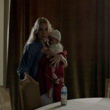 Insyriated: Diamand Bou Abboud in una scena del film