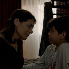 Insyriated: Hiam Abbas in un momento del film