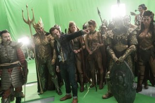 Justice League: Zack Snyder sul set del film