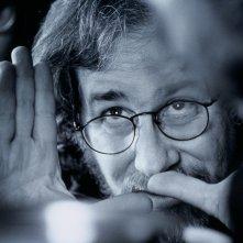 Spielberg: il cineasta statunitense in un'immagine tratta dal documentario