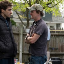 Stronger: Jake Gyllenhaal e David Gordon Green sul set del film