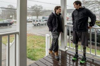 Stronger: Jake Gyllenhaal e Jeff Bauman in un'immagine del film