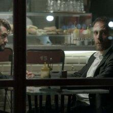 The Place: Valerio Mastandrea e Vinicio Marchioni in una scena del film