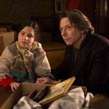 Tomorrow and Thereafter: Luce Rodriguez e Mathieu Amalric in un momento del film