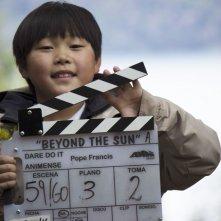 Beyond the Sun: un'immagine dal set del film statunitense